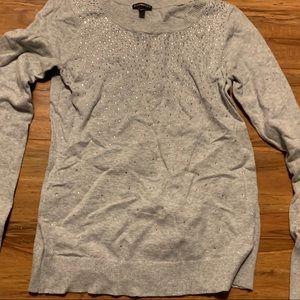 Express sweater grey